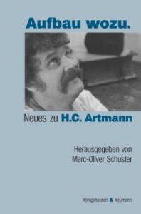 Aufbau wozu. Neues zu H.C. Artmann Buchcover