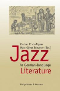 Jazz in German-language Buchcover Literature