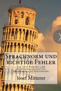 Sprachnorm und richtige Fehler Buchcover