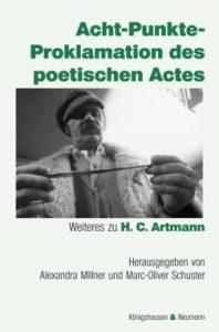Acht-Punkte-Proklamation des poetischen Actes Buchcover