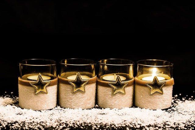 Advent 1. Kerze
