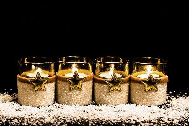 Advent 4. Kerze