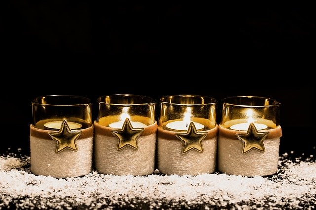 Advent 3. Kerze